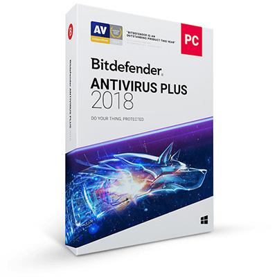 Bitdefender Antivirus Plus 1 urządzenie/1 rok